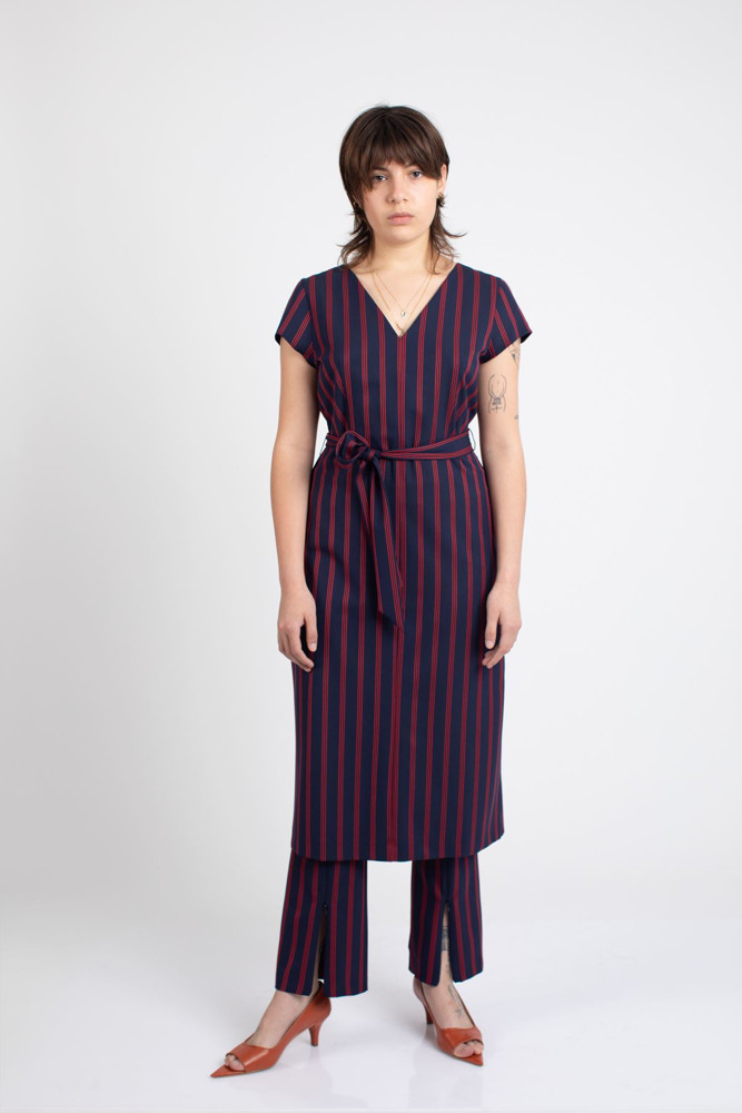 תמונה של שמלת DESPA פסים
