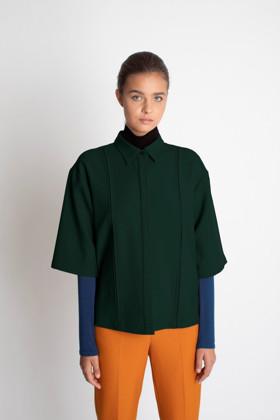תמונה של חולצת SHILO ירוקה