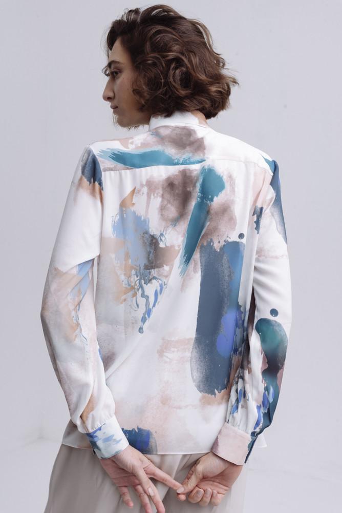 תמונה של חולצת SHAZEM מודפסת