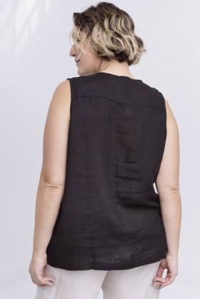 תמונה של SUKY SHIRT BLACK
