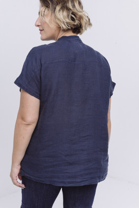תמונה של SONY SHIRT NAVY