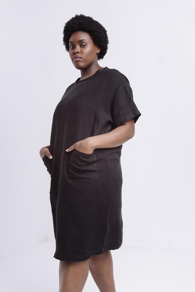 תמונה של DOVA DRESS BLACK