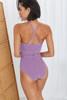 תמונה של בגד ים משובץ SURAYA סגול