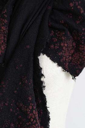 תמונה של צעיף SARTI שחור אדום