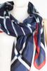 תמונה של צעיף ALBERTO כחול אדום