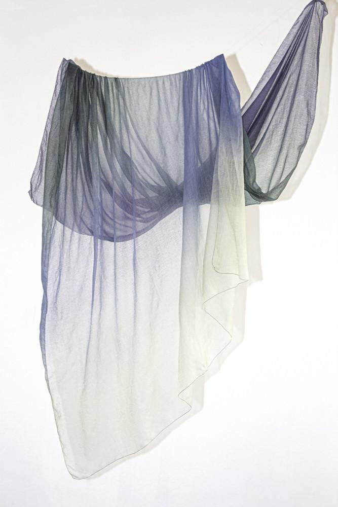 תמונה של צעיף VALENTINA כחול
