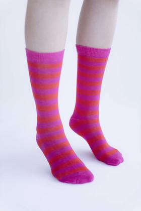 תמונה של שלישיית גרביים ורודים