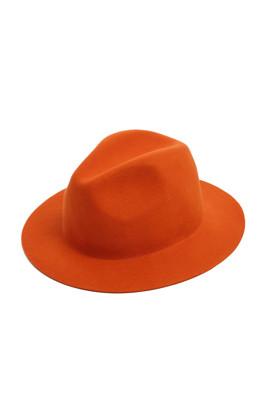 תמונה של כובע מגבעת כתום