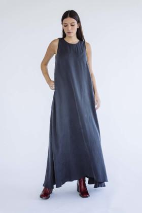 תמונה של שמלה נטע אפור