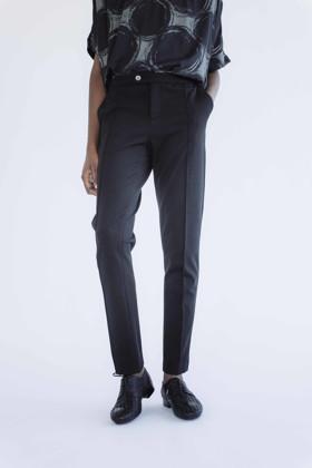 תמונה של מכנסיים פניר שחורים