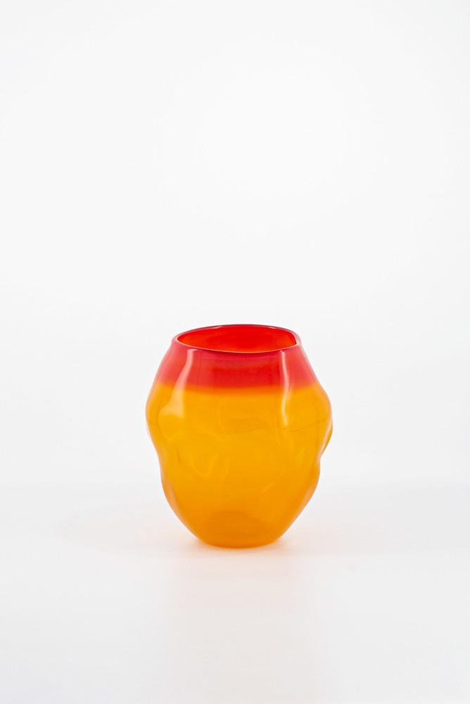 תמונה של אגרטל צהוב אדום 5012