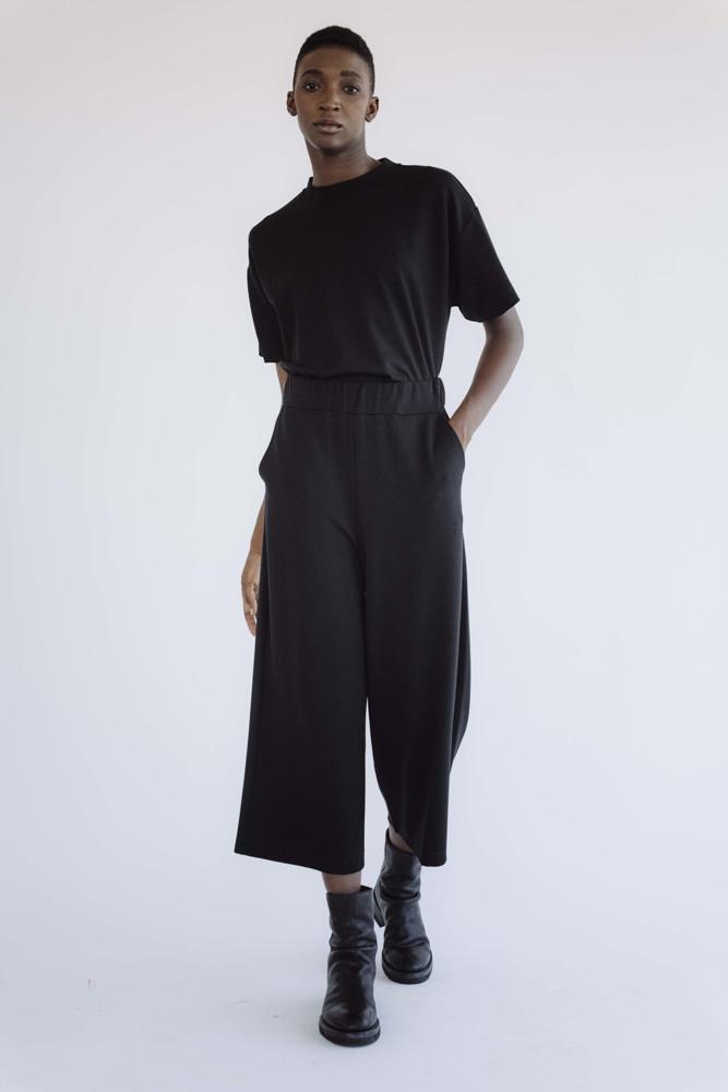 תמונה של מכנסיים ג'קי שחורים 2