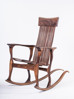 תמונה של כסא נדנדה מפוסל