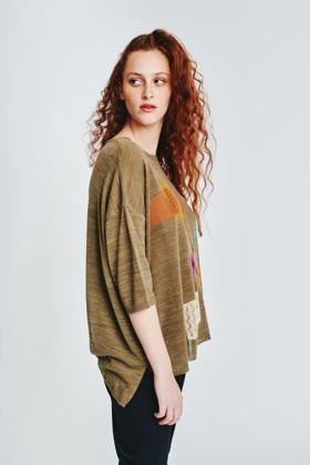 תמונה של חולצה Singer חאקי