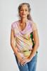 תמונה של חולצה Florist ורודה