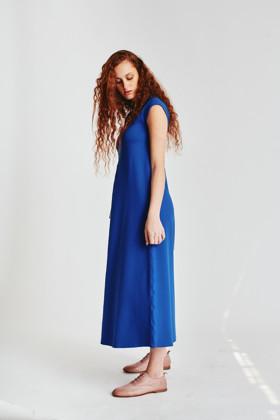 תמונה של שמלה Receptionist כחולה