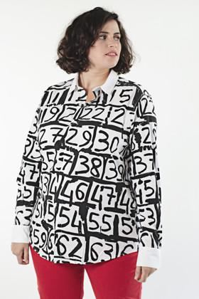 תמונה של חולצה מספרים