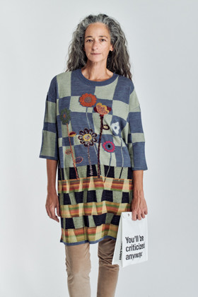 תמונה של שמלת לטישה צבעונית